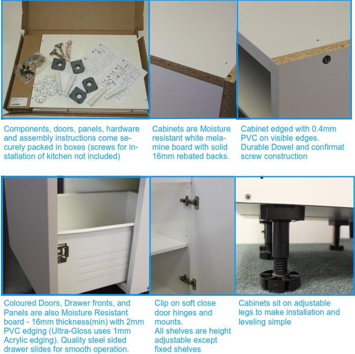 Select From The Full Guide Uduit Diy Flatpack Kitchen Pdf Or Summarised Cabinet Specifications